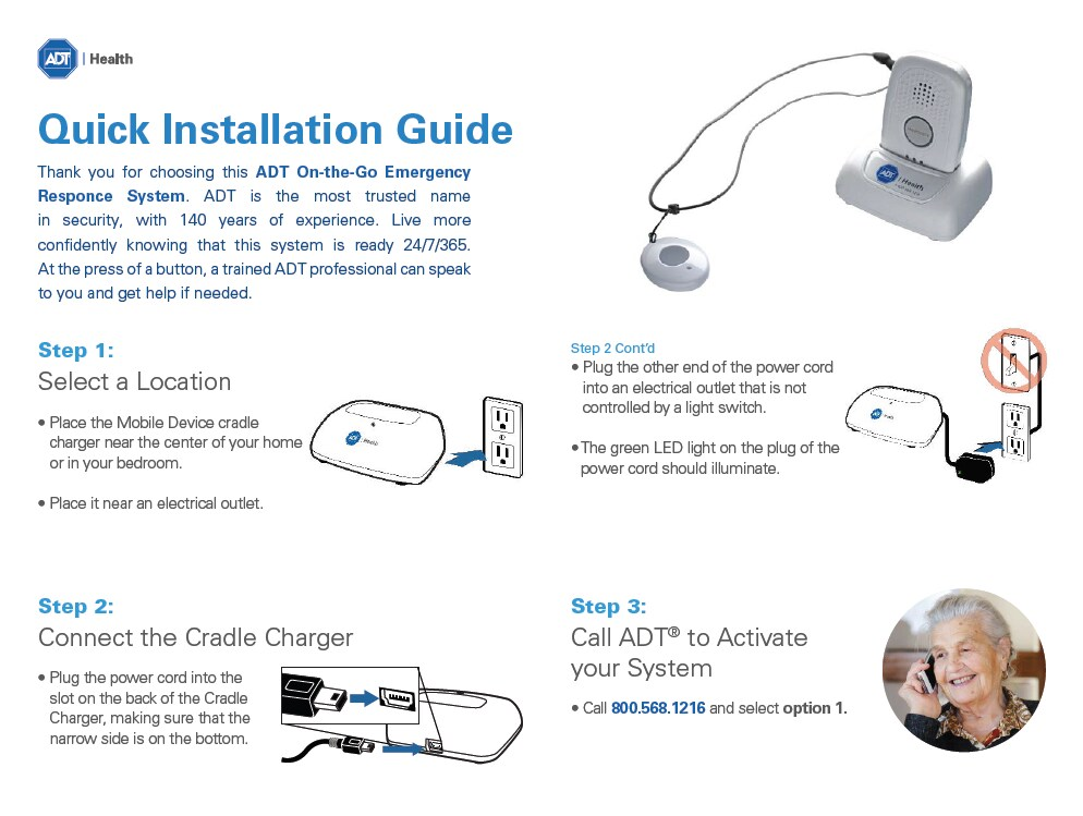 On-The-Go Emergency Response - Quick Install User Guide – Download PDF here
