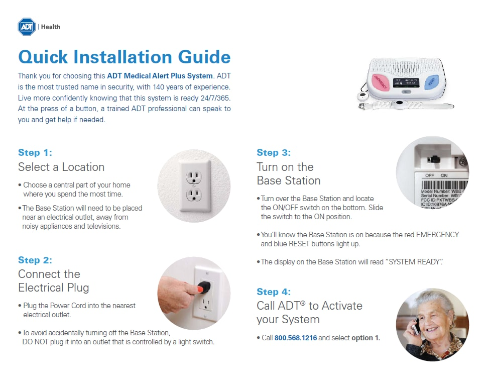 Medical   Alert Plus - Quick Installation Guide – Download the PDF