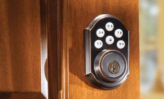 Smart home automation systems smart security by adt for Adt z wave door lock