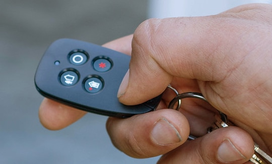 Key FOB with Panic Button