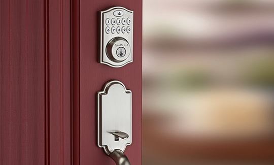 Smart locks, keyless entry, electronic door locks.