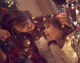 Follow these holiday safety tips to keep your family and home safe