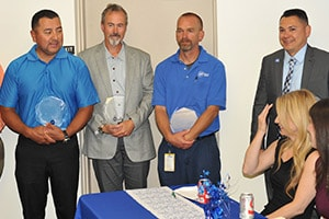 A celebration of life continued at the ADT Fresno branch