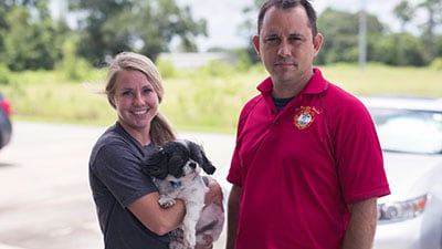 Dog is Saved by 'Mouth to Snout' Resuscitation After ADT Alerts First Responders