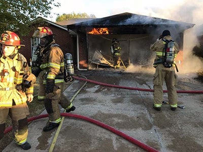 Mendicki house fire in Norman Oklahoma