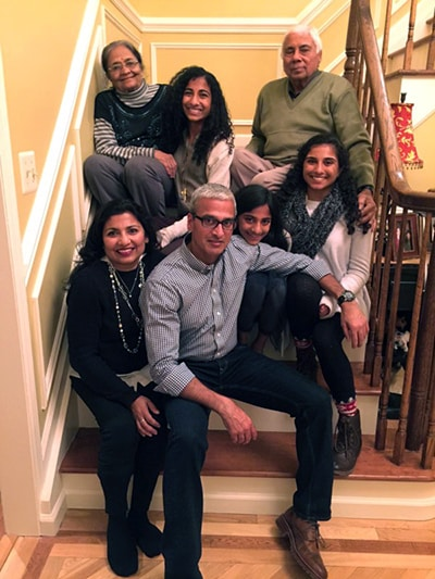 The Saifee family of Basking Ridge, NJ