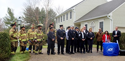 Bernards Township Police, Liberty Corner Fire Company and Liberty Corner First Aid Squad honored at ADT-sponsored reunion in December 2015