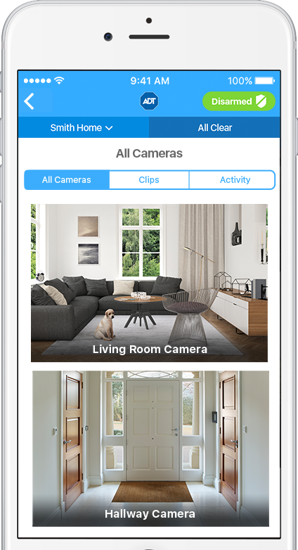 Make Your Phone a Window into Your Home