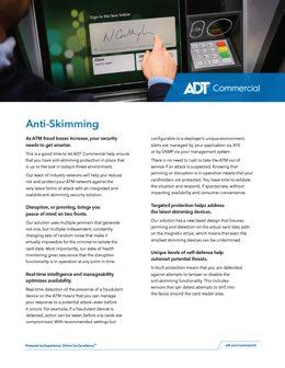Anti-skimming PDF