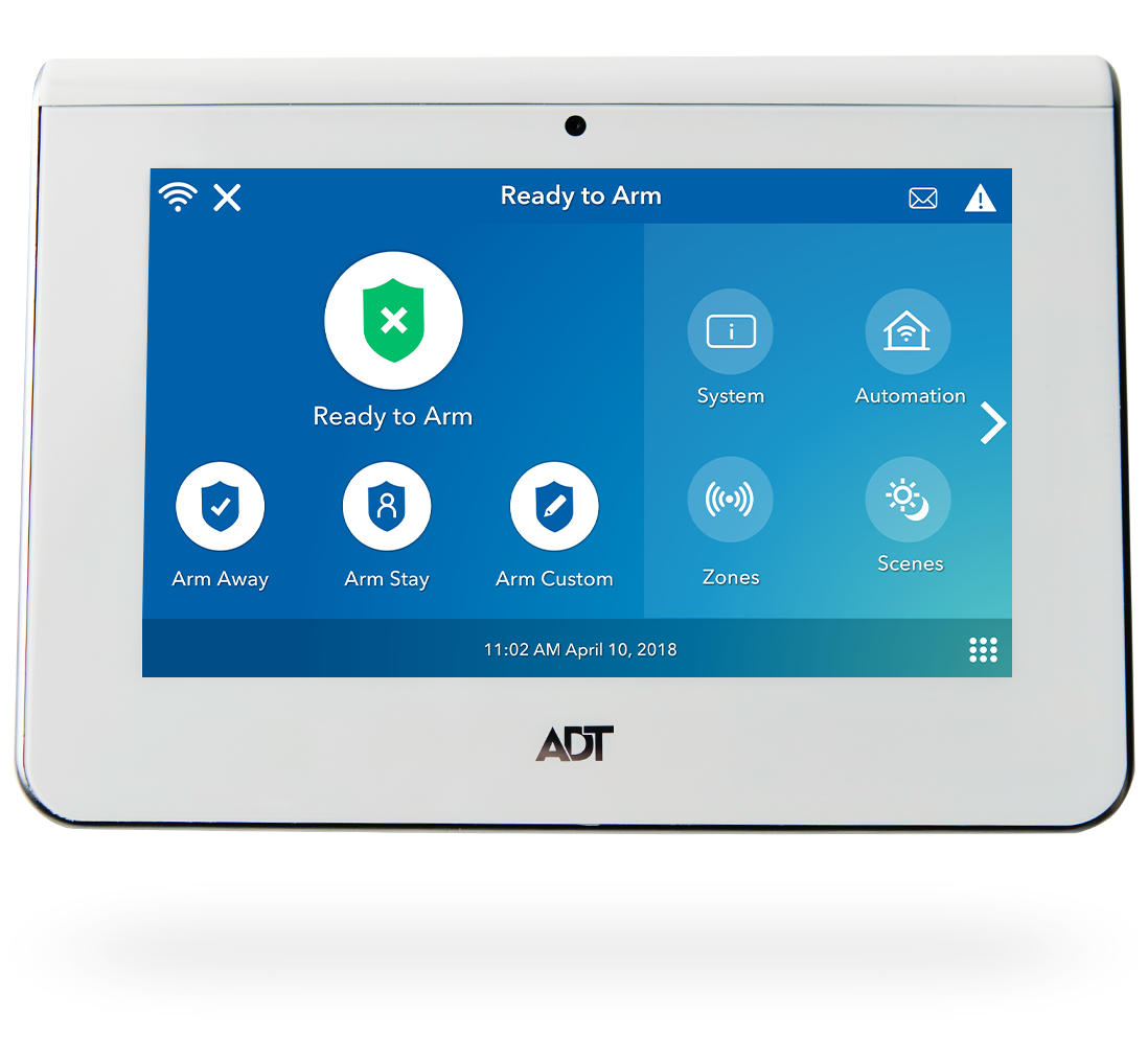 ADT Command® | Control your smart home security system from