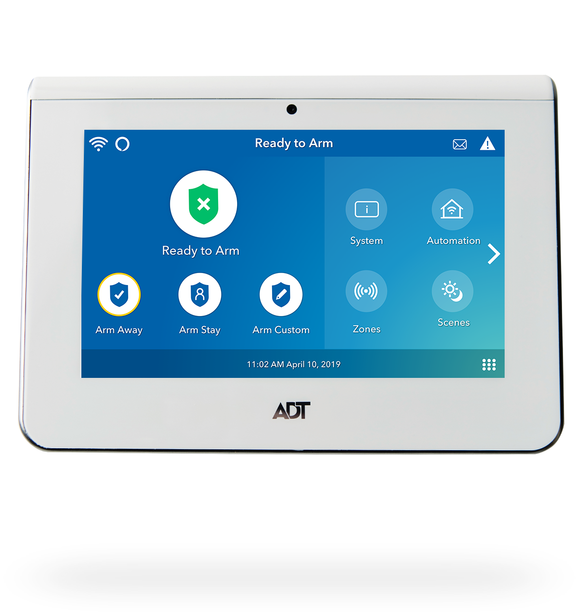 Adt Home Security Systems >> Adt Official Adt Security Smart Home Touchscreen Panel