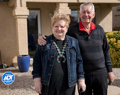 Jim and Nancy Schmidt of New Mexico